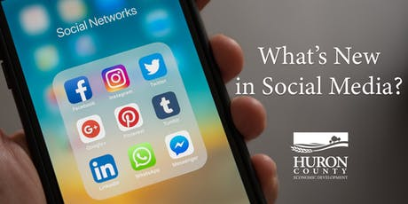 What's New in Social Media? tickets