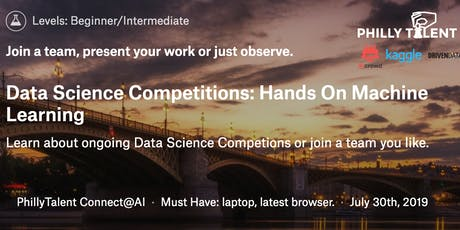 Data Competitions: Hands On Machine Learning July Cohort tickets