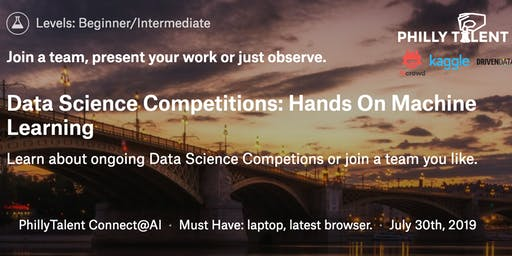 Data Competitions: Hands On Machine Learning July Cohort