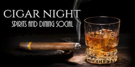 Cigar Night At Three V tickets