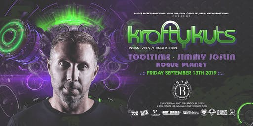 Krafty Kuts Plus Huge Surprise Mystery Guest at Bar B :: Orlando, Fl