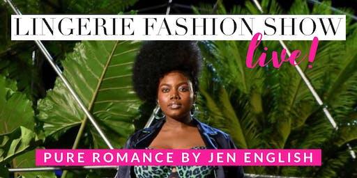 LIVE Lingerie Fashion Show!