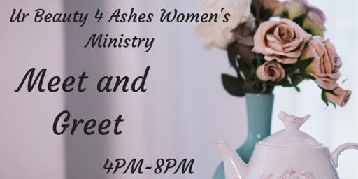 Urbeauty 4 Ashes Women's Ministry Meet & Greet