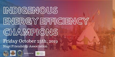 Indigenous Energy Efficiency Champions: Pincher Creek tickets