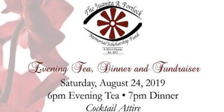 Evening Tea, Dinner & Fundraiser tickets
