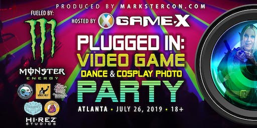 PLUGGED IN: Video Game Dance & Cosplay Photo Party