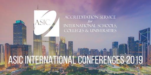 ASIC International Conference 2019 - Kuala Lumpur