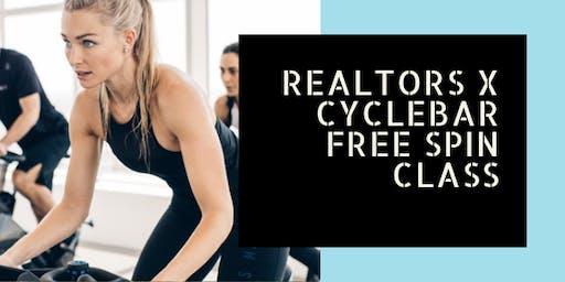 REALTORS X CYCLEBAR FREE SPIN CLASS!