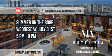 Summer On The Roof by Three Day Rule tickets