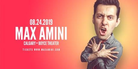 Max Amini Live in Calgary - Authentically Absurd Tour tickets