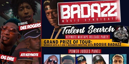 BADAZZ ENT. TOUR & TALENT SEARCH