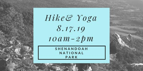 Hike and Yoga tickets