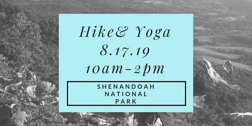 Hike and Yoga