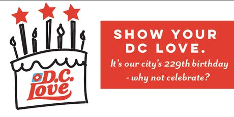 DC LOVE BIRTHDAY PARTY  tickets