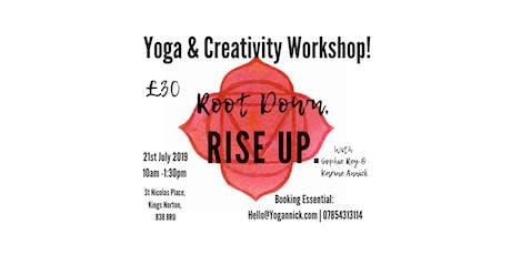 Yoga & Creativity Workshop tickets