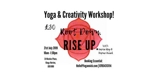 Yoga & Creativity Workshop