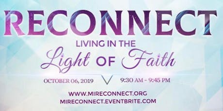 Reconnect Conference: Living in the Light of Faith tickets