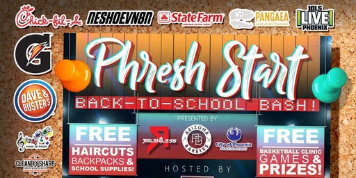 PHRESH START – Back To School Bash