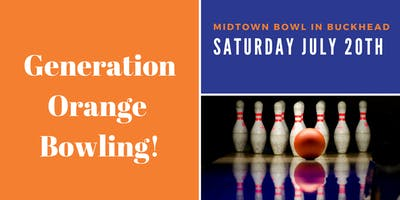 Generation Orange Bowling !