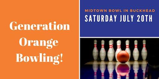 Generation Orange Bowling !