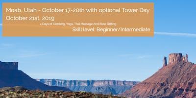 Adventure Yoga Retreat Moab - Rock Climbing, Rafting, Yoga