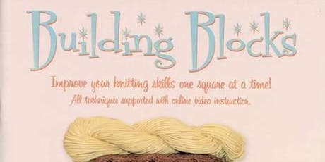 Learn To Knit - Building Blocks Basics tickets