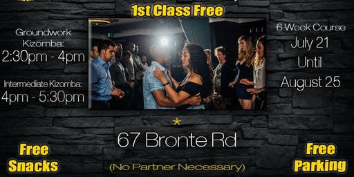 1ST CLASS FREE! Kizomba Dance Lessons In Oakville With Kwesi & Judy