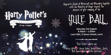 Harry Potter's 21st Birthday Most Magical Birthday- Yule Ball tickets