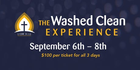 The Washed Clean Experience tickets