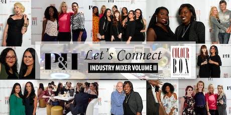 Posh & Harmony + Colourbox Makeup Studios LET'S CONNECT Industry Mixer Volume II tickets