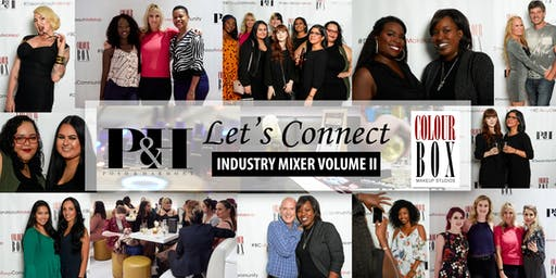 Posh & Harmony + Colourbox Makeup Studios LET'S CONNECT Industry Mixer Volume II