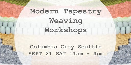 Modern Tapestry Weaving Wall Hanging Workshop