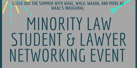 Minority Law Student & Lawyer Networking Event  tickets