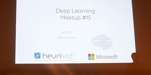 Deep Learning Meetup #17 at Samsung Paris
