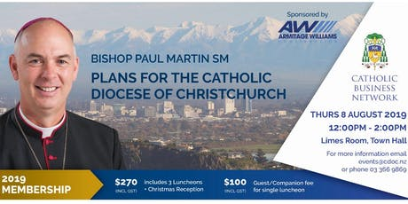 Catholic Business Network - Bishop Paul Martin SM  tickets