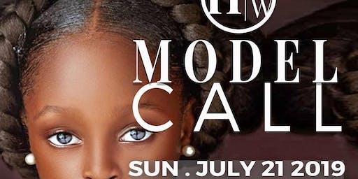 HARLEM FASHION WEEK: Kid's Model Casting