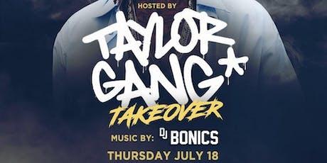 Taylor Gang aka Wiz Khalifa @ Noto Philly July 18 tickets
