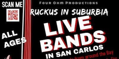 Ruckus in Suburbia 15  October