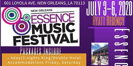 Royal Occasions LLC /Essence Festival 2020 tickets