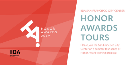2019 SF Honor Awards Tour #1 tickets