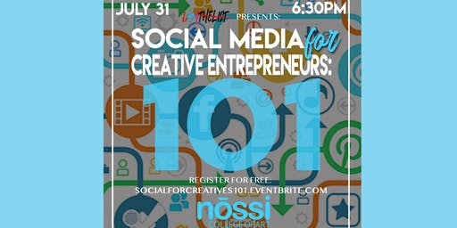 Social Media 101 for Creative Entreprenuers