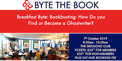 Breakfast Byte - Bookbusting: How Do You Find or Become a Ghostwriter?