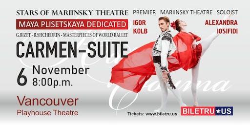 "BALLET ""CARMEN SUITE"" - STARS OF MARIINSKIY THEATRE in Vancouver"