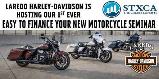 Easy To Finance Your New Motorcycle Seminar