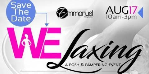 "Welaxing ""A Posh & Pampering Event"""
