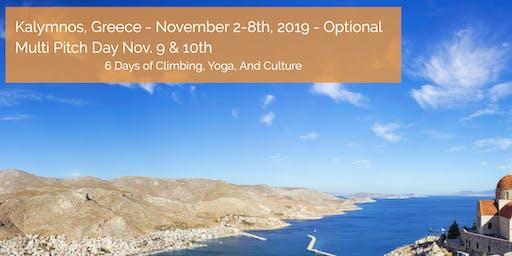 Adventure Retreat Greece ~ Rock Climbing, Yoga, Culture