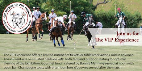 The Hettinger Cup VIP Experience tickets