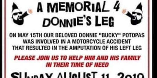 Memorial 4 Donnie's Leg
