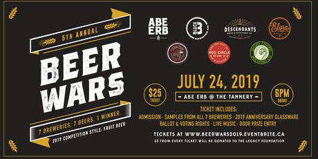 Beer Wars 2019 tickets