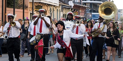 New Orleans Bus Tour